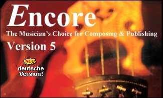 Encore - Music Notation Windows and Mac - Update / Upgrade now available