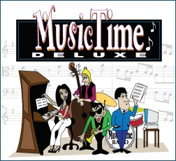 MusicTime 4 to make perfect professional sheet music score